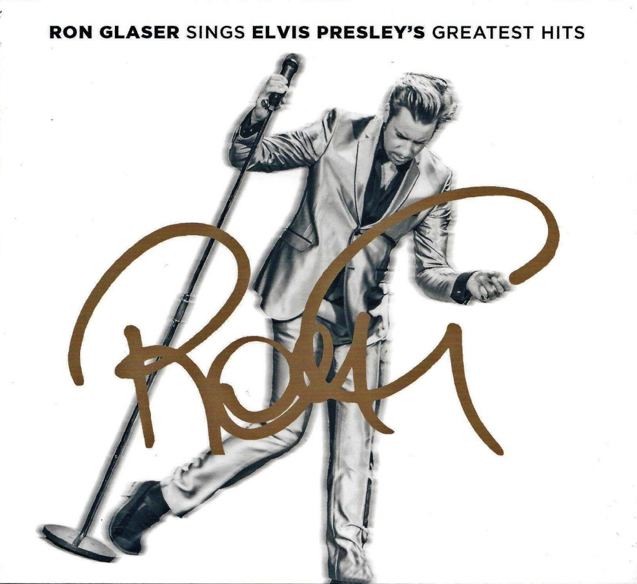 RON GLASER singt Elvis Presses' greatest hits