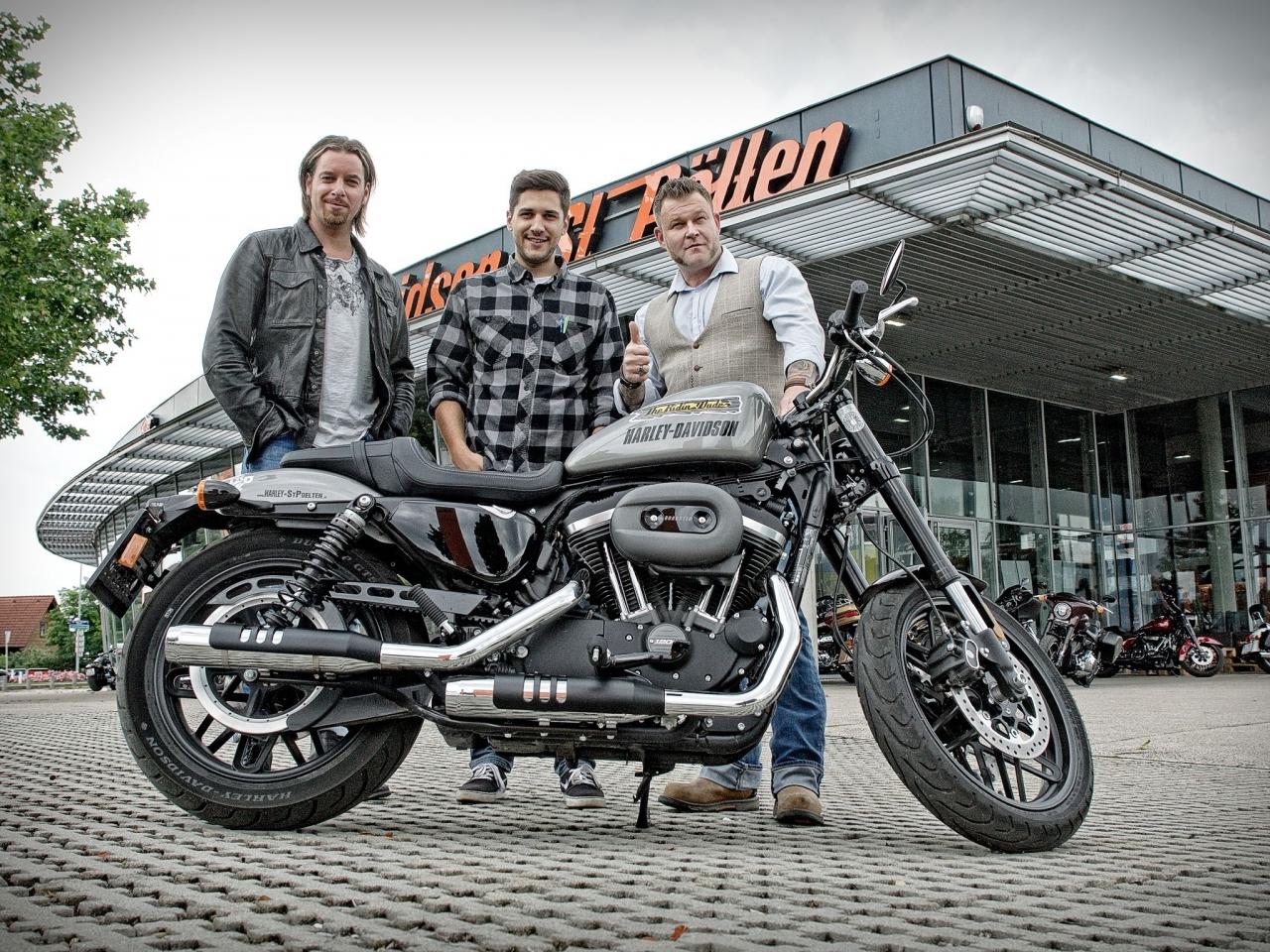 Harley Roadster für die Dudes 16.06.2018