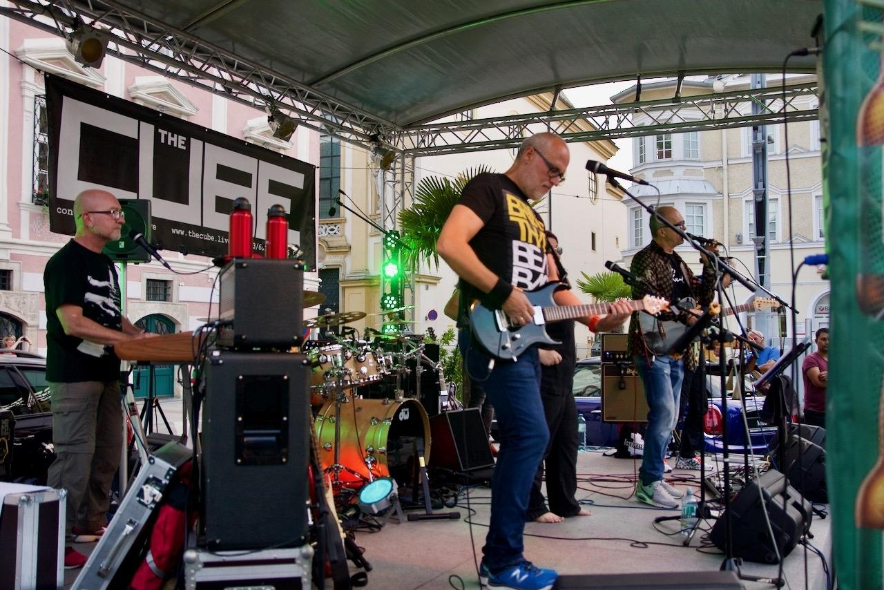 THE CUBE am Sommerfest-Gurmetmeile St. Pölten 19.07.2019