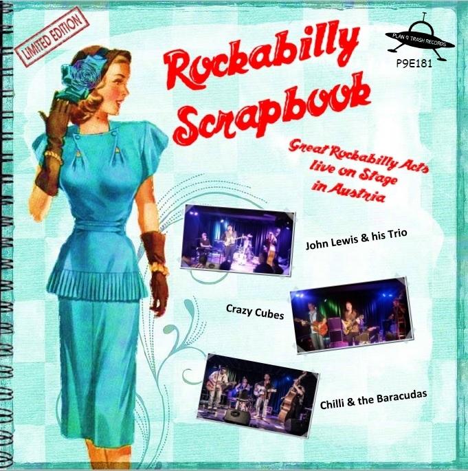 P9E181_VA_Rockabilly Scrapbook_7 inch Vinyl EP