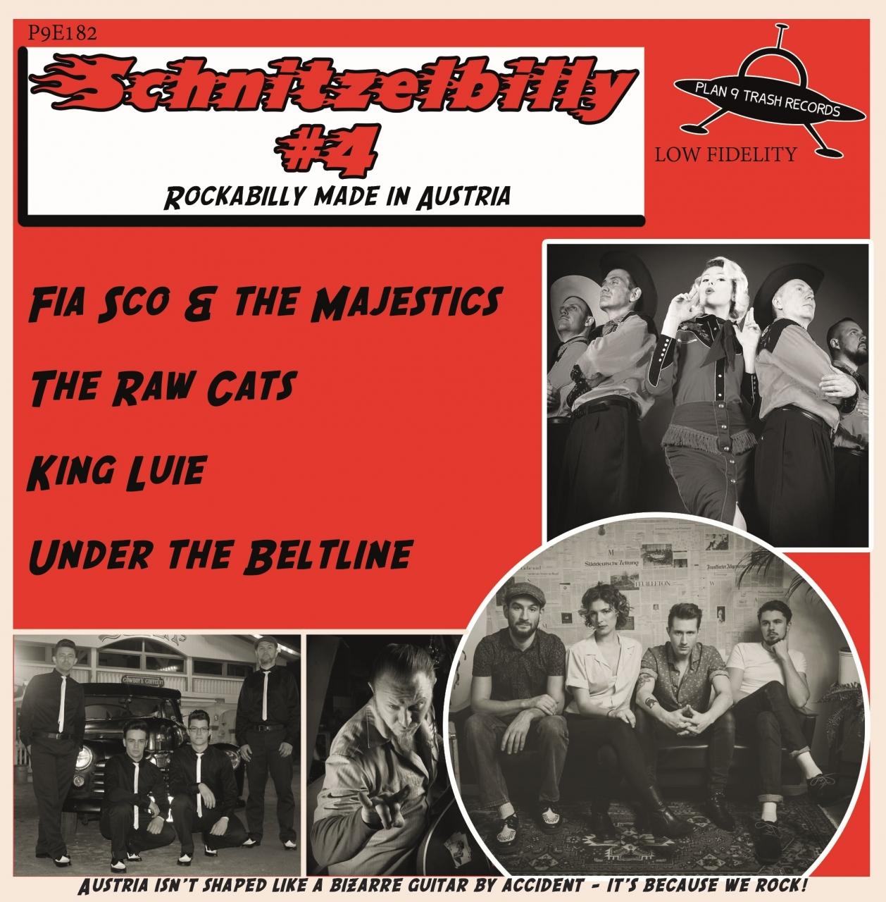 P9E182_VA_Schnitzelbilly Vol. IV_7 inch Vinyl EP